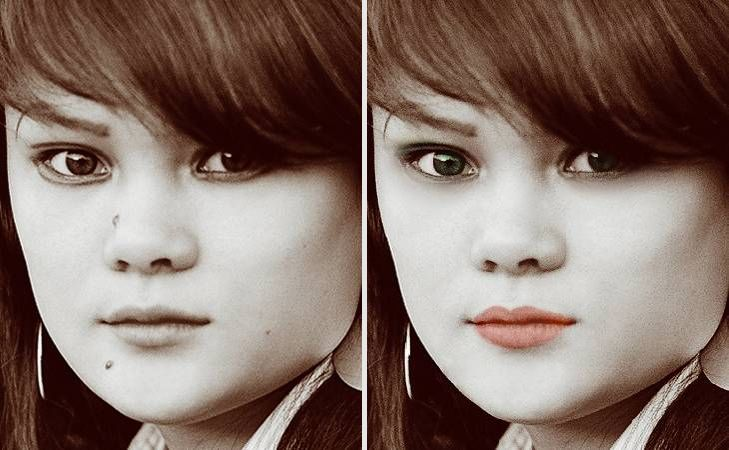Portrait editing software - face retouch