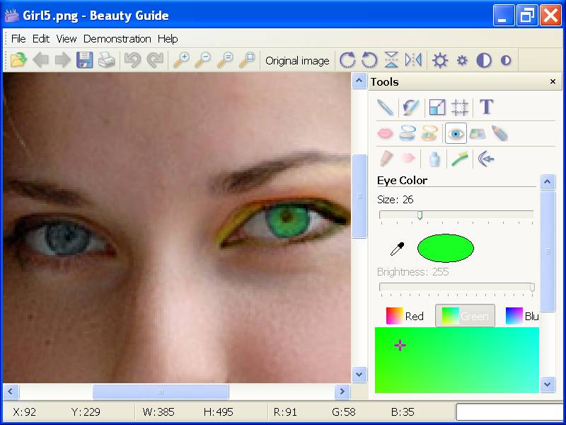 Click to view Beauty Guide 1.3.1 screenshot