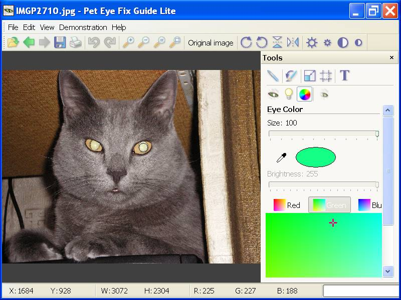 Pet Eye Fix Guide Lite Screen shot